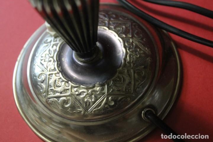 Vintage: PAREJA PIE DE LAMPARA MESITA DE NOCHE VINTAGE - Foto 4 - 205547808