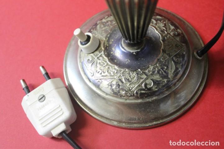 Vintage: PAREJA PIE DE LAMPARA MESITA DE NOCHE VINTAGE - Foto 19 - 205547808