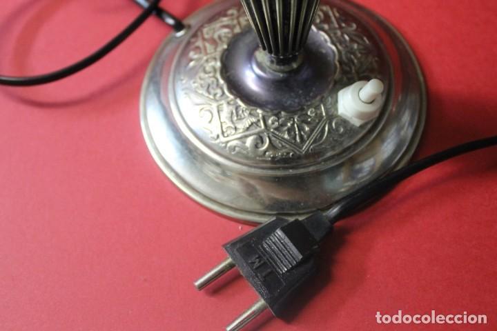 Vintage: PAREJA PIE DE LAMPARA MESITA DE NOCHE VINTAGE - Foto 21 - 205547808