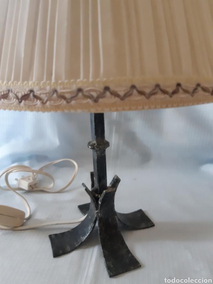 Vintage: LAMPARITA METAL DE SOBREMESA - Foto 4 - 205681916