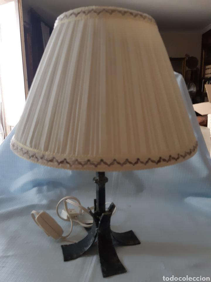 LAMPARITA METAL DE SOBREMESA (Vintage - Lámparas, Apliques, Candelabros y Faroles)