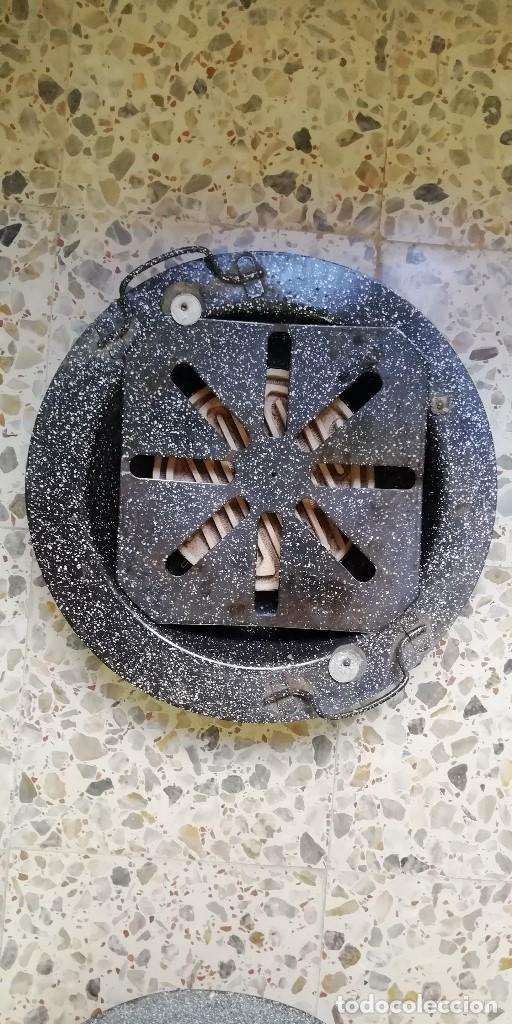 Vintage: BRASERO ELECTRICO - AÑOS 60 - PARA COLECCION O TRANSFORMACION LAMPARA INDUSTRIAL - Foto 2 - 205863952