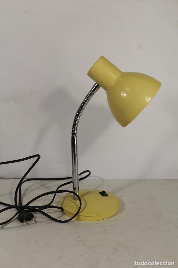 LAMPARA DE MESA FLEXO (Vintage - Lámparas, Apliques, Candelabros y Faroles)