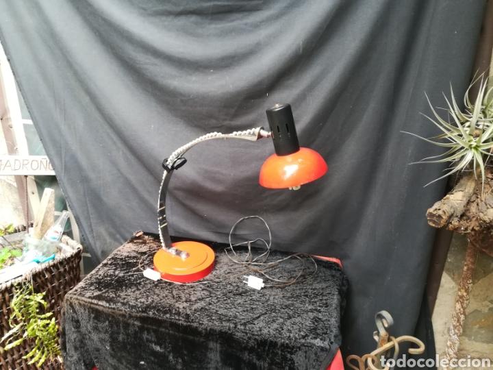 Vintage: Lámpara roja art deco - Foto 2 - 207035152