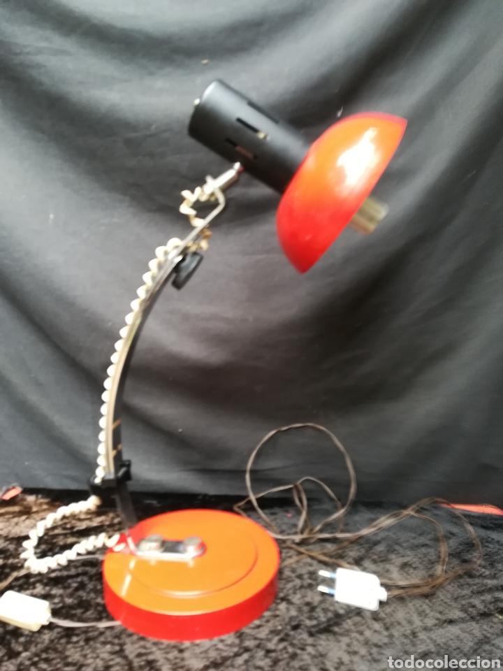 Vintage: Lámpara roja art deco - Foto 9 - 207035152