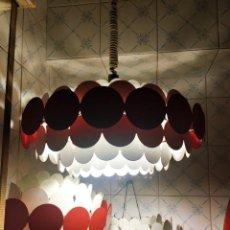 Vintage: LAMPARA DE TECHO AÑOS 60 DORIA DESIGN. Lote 208202022