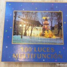 Vintage: 100 LUCES DE NAVIDAD MULTIFUNCION MODELO PITELO. Lote 208432281