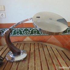 Vintage: LAMPARA DE SOBREMESA CROMADA TIPO FASE MAOF LUPEDA SIN DIFUSOR. Lote 209202695