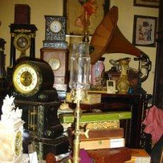 Vintage: BONITO Y MUY RARO QUINQUE SIGLO XIX FINALES REALIZADO EN BRONCE. Lote 209888625