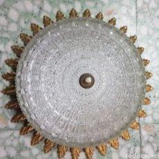 Vintage: LÁMPARA DE TECHO VINTAGE. Lote 212377285