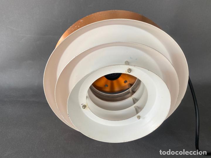 Vintage: lámpara trava pendant de carl thore , para granhaga , sweden 1960 , lampara de techo - Foto 3 - 212467423