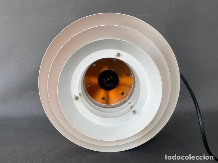 Vintage: lámpara trava pendant de carl thore , para granhaga , sweden 1960 , lampara de techo - Foto 5 - 212467423