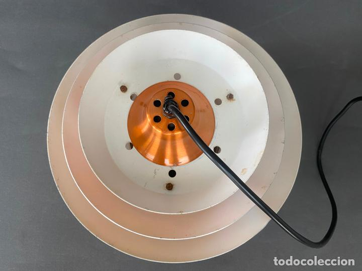 Vintage: lámpara trava pendant de carl thore , para granhaga , sweden 1960 , lampara de techo - Foto 10 - 212467423