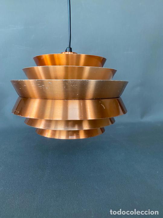 Vintage: lámpara trava pendant de carl thore , para granhaga , sweden 1960 , lampara de techo - Foto 12 - 212467423