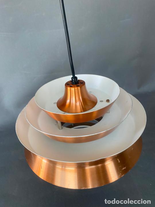 Vintage: lámpara trava pendant de carl thore , para granhaga , sweden 1960 , lampara de techo - Foto 14 - 212467423