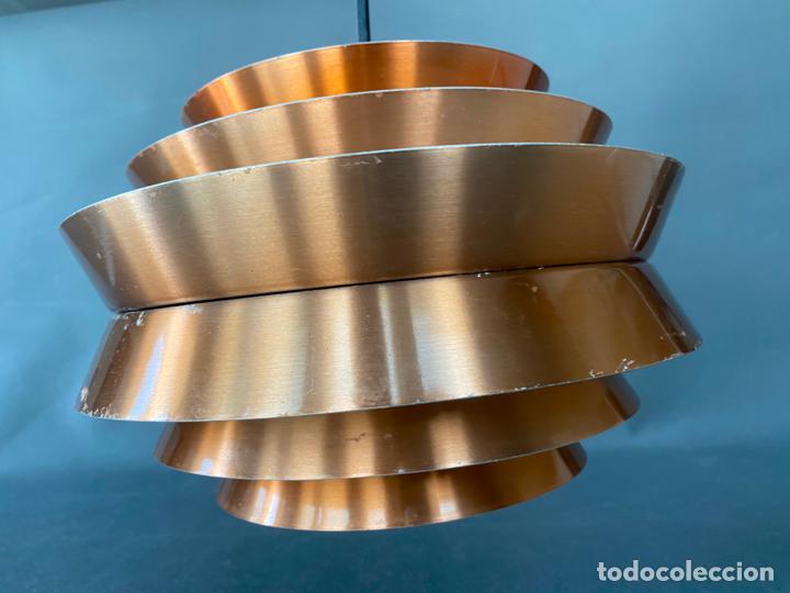 Vintage: lámpara trava pendant de carl thore , para granhaga , sweden 1960 , lampara de techo - Foto 15 - 212467423