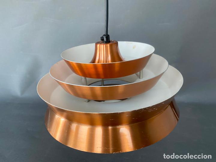 Vintage: lámpara trava pendant de carl thore , para granhaga , sweden 1960 , lampara de techo - Foto 17 - 212467423