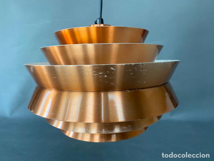 Vintage: lámpara trava pendant de carl thore , para granhaga , sweden 1960 , lampara de techo - Foto 18 - 212467423