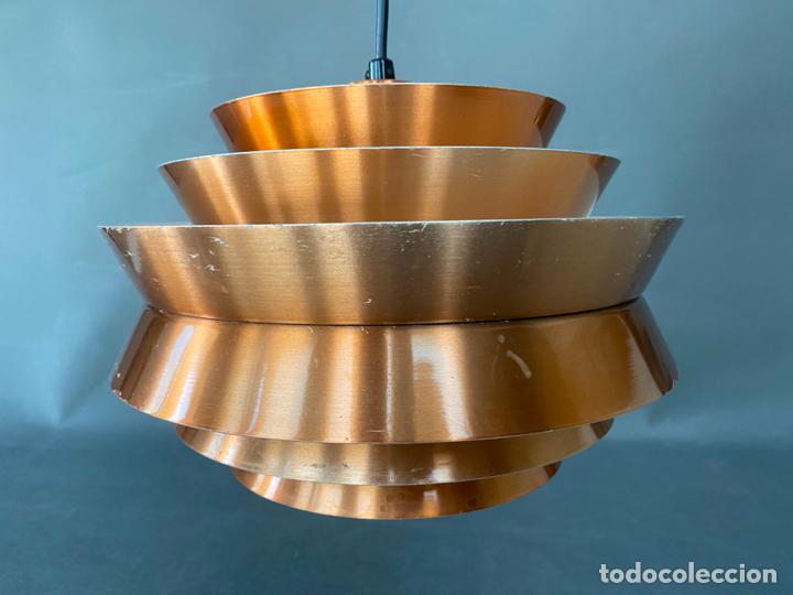 Vintage: lámpara trava pendant de carl thore , para granhaga , sweden 1960 , lampara de techo - Foto 20 - 212467423
