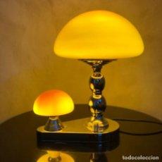 Vintage: LAMPARA MUSHROOM. AÑOS 70'S. Lote 213764978