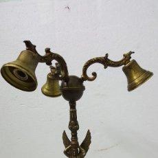 Vintage: LAMPARA DE BRONCE. Lote 213988963
