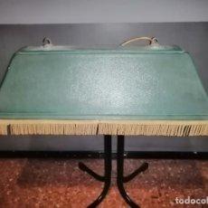 Vintage: LÁMPARA CLÁSICA DE MESA DE BILLAR. Lote 214002763