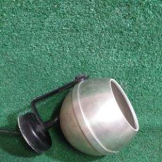 Vintage: LAMPARA APLIQUE FOCO ESFERICO TIPO EYE BALL DE ALUMINIO VINTAGE MARCA FORMAS FORMAS. Lote 214539268