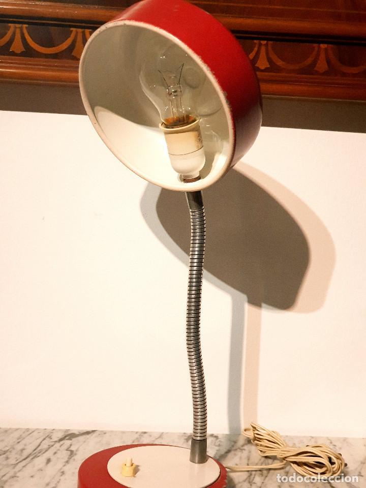 Vintage: ANTIGUO FLEXO ESCRITORIO VINTAGE FASE LAMPARA AÑOS 60-70 - Foto 7 - 214680055