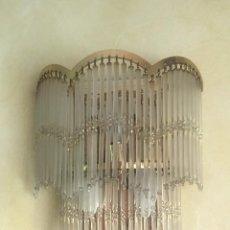 Vintage: PRECIOSA LAMPARA APLIQUE DE PARED VINTAGE. Lote 215039730