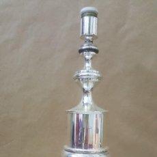 Vintage: LAMPARA METALICA CROMADA. Lote 216018886