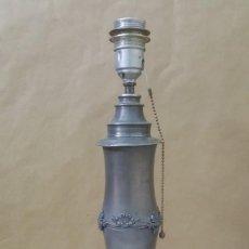 Vintage: LAMPARA METALICA TIPO PLOMO. Lote 216019248