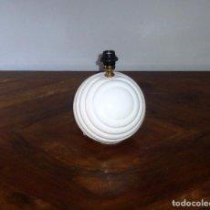 Vintage: LAMPARA BOLA EN CERAMICA DE MANISES.29 X 23 CM.. Lote 216394043