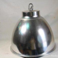 Vintage: LAMPARA DE TECHO GRANDE DE ALUMINIO. Lote 217556731