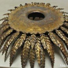 Vintage: LAMPARA DE TECHO TIPO SOL. Lote 217651636