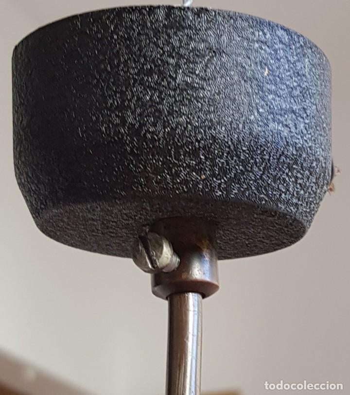 Vintage: Lampara-foco colgante era para mostrador de tienda. Años 60 - Foto 5 - 218626698