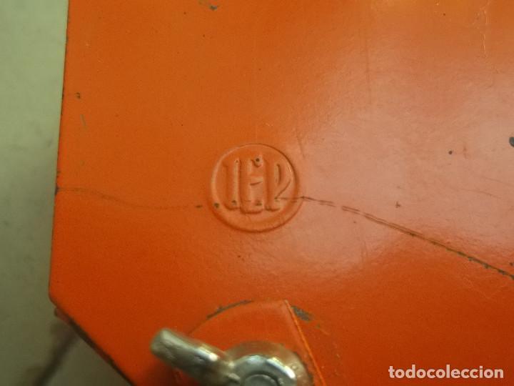 Vintage: Aplque IEP orientable color naranja con cable y enchufe originales. - Foto 7 - 218764002