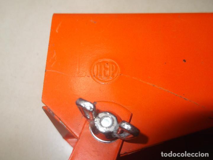Vintage: Aplque IEP orientable color naranja con cable y enchufe originales. - Foto 9 - 218764002