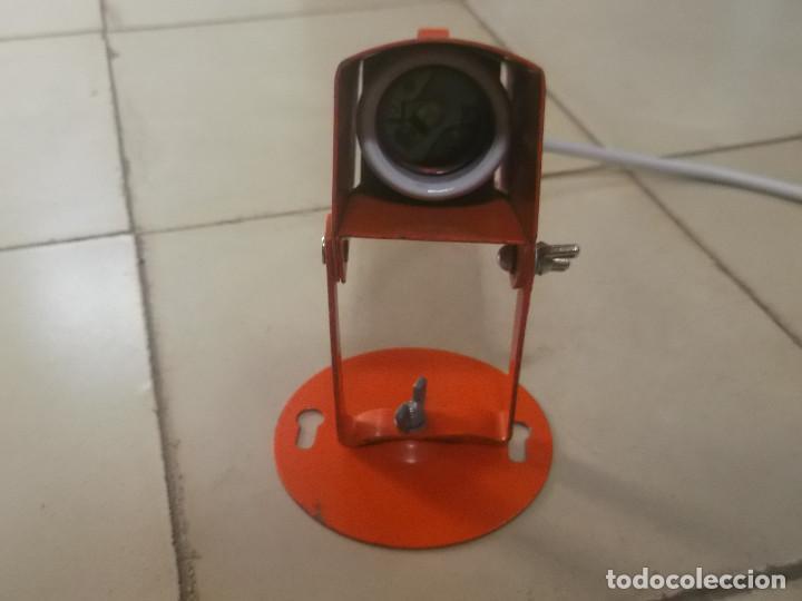 Vintage: Aplque IEP orientable color naranja con cable y enchufe originales. - Foto 13 - 218764002
