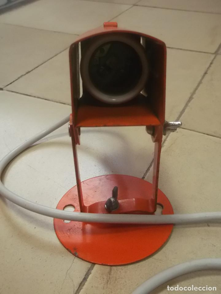 Vintage: Aplque IEP orientable color naranja con cable y enchufe originales. - Foto 17 - 218764002