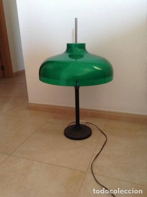 LÁMPARA DISEÑADA EN 1962 POR MIGUEL MILÀ (Vintage - Lámparas, Apliques, Candelabros y Faroles)