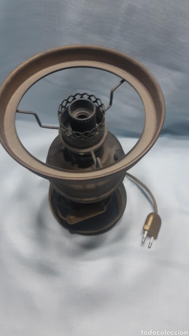 Vintage: LAMPARA SOBREMESA IMITACION QUINQUÉ - Foto 2 - 220422590