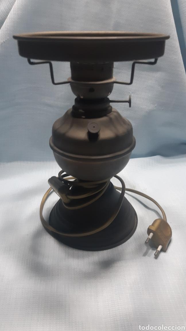 Vintage: LAMPARA SOBREMESA IMITACION QUINQUÉ - Foto 3 - 220422590