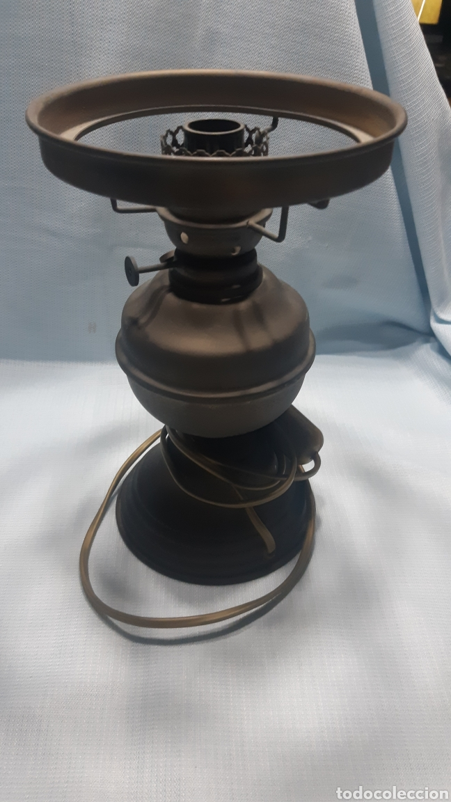 LAMPARA SOBREMESA IMITACION QUINQUÉ (Vintage - Lámparas, Apliques, Candelabros y Faroles)