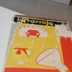 Vintage: G-43 LAMPARA INFLARROJO SECADO METAL MAZDA INFRARROJO CALOR PROBADO Y FUNCIONA. Lote 220525467