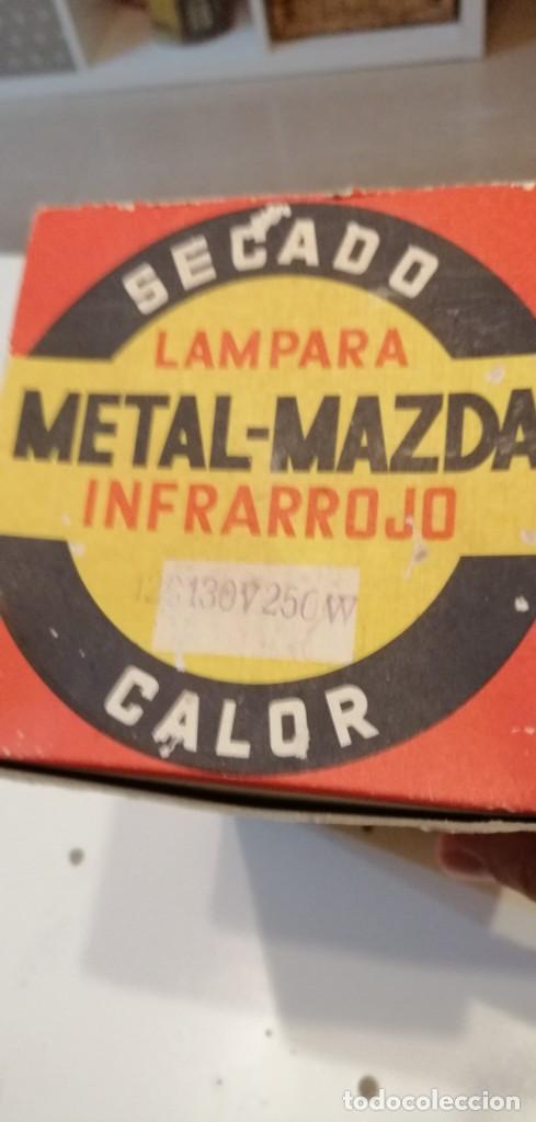 Vintage: G-43 LAMPARA INFLARROJO SECADO METAL MAZDA INFRARROJO CALOR PROBADO Y FUNCIONA - Foto 3 - 220525467