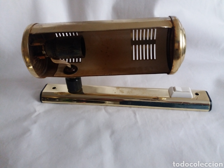 Vintage: Pareja apliques lámparas para iluminar cuadros o figuras vintage años 70 - Foto 3 - 220852465