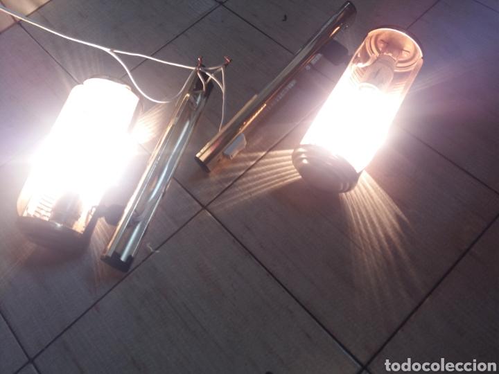 Vintage: Pareja apliques lámparas para iluminar cuadros o figuras vintage años 70 - Foto 12 - 220852465