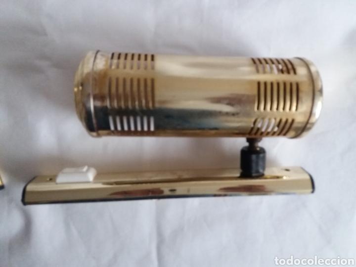 Vintage: Pareja apliques lámparas para iluminar cuadros o figuras vintage años 70 - Foto 13 - 220852465