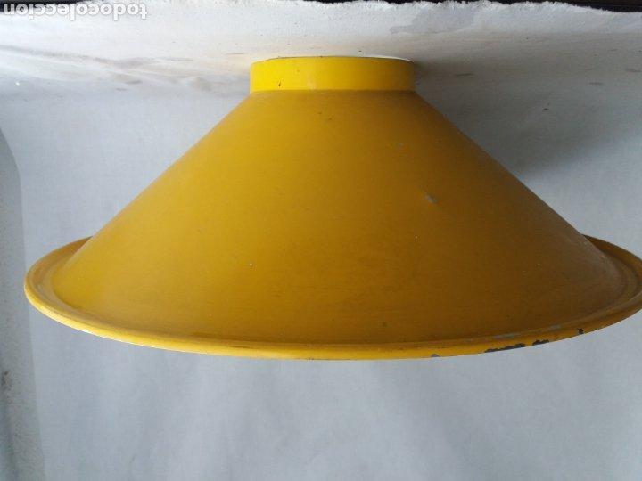 Vintage: Pantalla para lámpara vintage metalarte - Foto 4 - 220882227