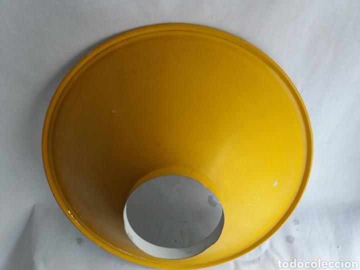 Vintage: Pantalla para lámpara vintage metalarte - Foto 5 - 220882227